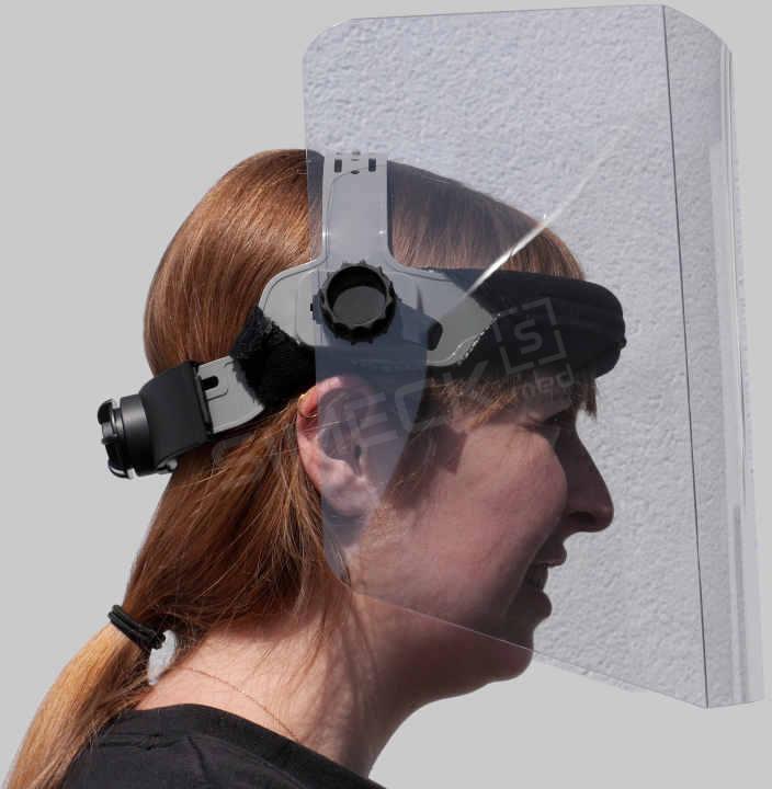 Face-Shields so gut wie Spiegelfrei